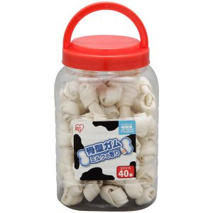 骨型ガム 犬用 ミルク味 S(40本入り) アイリスオーヤマ|y-lohaco