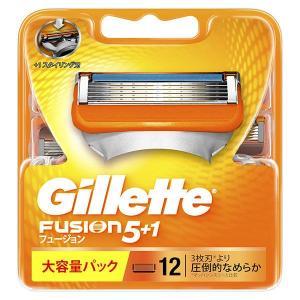 ジレット フュージョン 5+1 髭剃り 替刃12個入