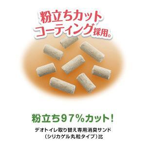 箱売り デオトイレ 1週間消臭・抗菌デオサンド 4L 6袋 ユニ・チャーム|y-lohaco|07