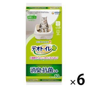 デオトイレ 1週間消臭・抗菌シート 10枚×6袋 ユニ・チャーム