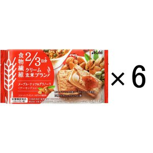 バランスアップ クリーム玄米ブラン メープルナッツ&グラノーラ 1箱(6袋入) アサヒグループ食品 栄養調整食品|y-lohaco