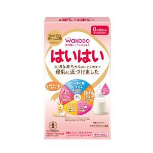0ヵ月からWAKODO(和光堂) レーベンスミルク はいはい スティックパック 13g×10包 1箱 アサヒグループ食品|y-lohaco