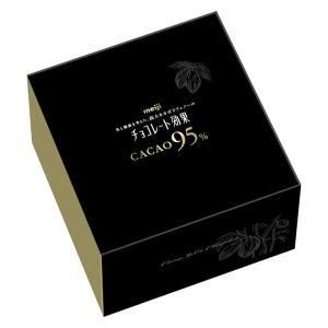 経路限定発売明治 チョコレート効果カカオ95% 大容量ボックス 1箱|y-lohaco