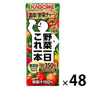 カゴメ 野菜一日これ一本 200ml 1セット(48本:24本入×2箱) y-lohaco