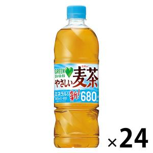 サントリー GREEN DA・KA・RA(グリーンダカラ)やさしい麦茶 650ml 1箱(24本入)