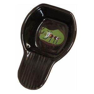 カルディコーヒーファーム オリジナル メジャースプーン(陶器)黒 1個|LOHACO PayPayモール店