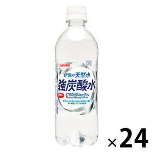 サンガリア 伊賀の天然水 強炭酸水 500ml 1箱(24本入)|LOHACO PayPayモール店