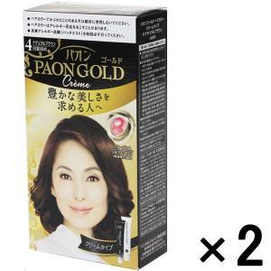 アウトレットヘンケルジャパン パオンゴールドヘアカラークリーム4 1セット(2個:1個×2)|y-lohaco