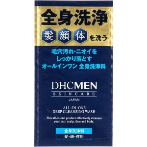 DHC MEN(ディーエイチシー) オールインワン ディープクレンジングウォッシュ|y-lohaco