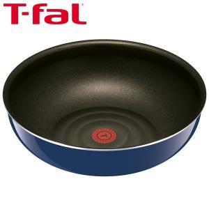 T-fal(ティファール)インジニオ・ネオグランブルー・プレミアウォックパン(炒め鍋)28cm L6...