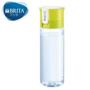 ブリタ(BRITA) 水筒 直飲み 携帯 浄水 ボトル フィル&ゴー バイタル ライム 600ml ...