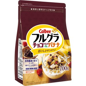 カルビー フルグラ チョコクランチ&バナナ 700g 1袋|y-lohaco
