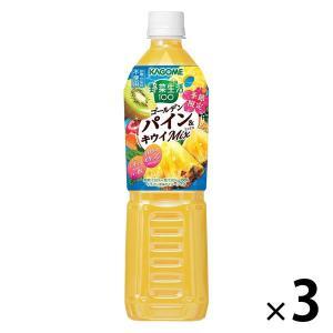 カゴメ 野菜生活100 すっきりパインミックス 720ml 1セット(3本)|y-lohaco