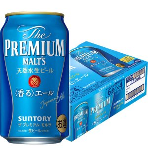 サントリー プレミアムビール プレミアムモルツ 香るエール 350ml 24缶|y-lohaco
