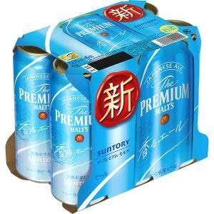 サントリー プレミアムビール プレミアムモルツ 香るエール 500ml 6缶|y-lohaco