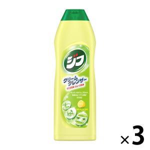 Jif(ジフ) ジフレモン クリームクレンザー キッチン用洗剤 本体 270mL 1セット(3本入)...