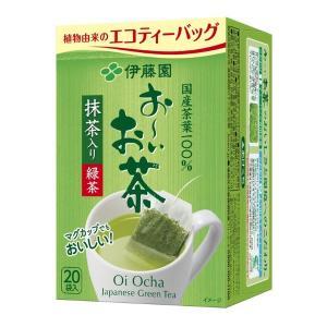 伊藤園 おーいお茶 抹茶入り緑茶ティーバッグ 1箱(20バッグ入)