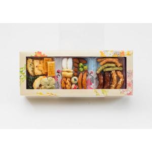 ホワイトデー2020 三越伊勢丹 京都祇園萩月 花あわせ 9袋入 1個 三越の紙袋付き 手土産ギフト 和菓子