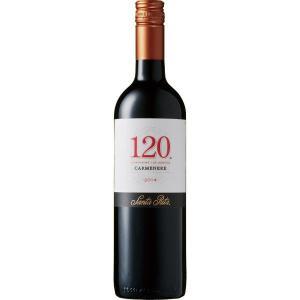 サンタ・リタ 120 カルメネール 750ml チリ 赤 ミディアムボディ  赤ワイン