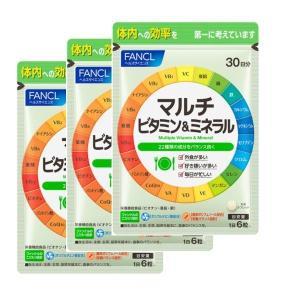 マルチビタミン&ミネラル 約90日分 (540粒)ファンケル サプリメント|y-lohaco