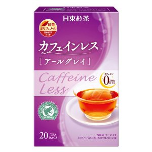 日東紅茶 カフェインレスアールグレイ 1箱(20バッグ入)