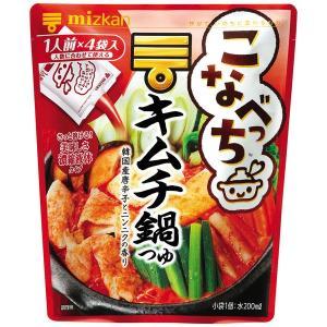 ミツカン こなべっち キムチ鍋つゆ 1個