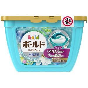 ボールド ジェルボール3D プレミアムクリーン 本体 (18個入) 洗濯洗剤 P&G y-lohaco
