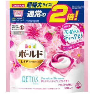 ボールド ジェルボール3D プレミアムブロッサム 詰め替え 超特大 (34個入) 洗濯洗剤 P&G