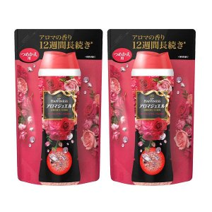 レノアハピネス アロマジュエル ダイアモンドフローラルの香り 詰め替え 455ml 1セット(2個入) 香り付け専用 P&G