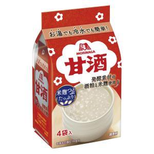 森永 甘酒 1パック(4袋入)