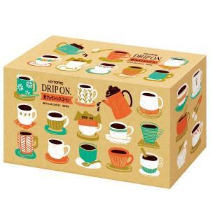 ドリップコーヒーキーコーヒー ドリップオン カフェインレスコーヒー 1箱(30袋入)