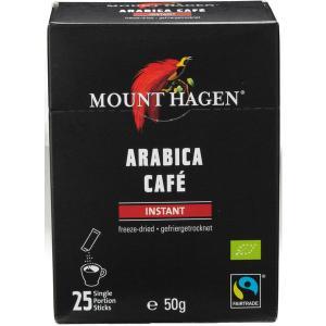 スティックコーヒー マウントハーゲン オーガニック フェアトレード インスタントコーヒー 1箱(25...