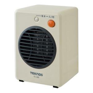 TEKNOS モバイルセラミックヒーター 300W 白 TS-300