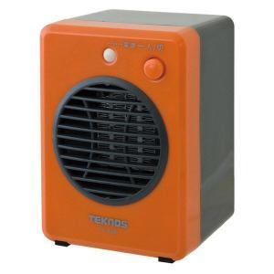 テクノス モバイルセラミックヒーター 300W オレンジ TS-320 TEKNOS