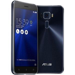 ASUS Zenfone3 L スマートフォン ブラック ZE520KL-BK32S3 1台