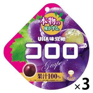 UHA味覚糖 コロロ グレープ 3袋