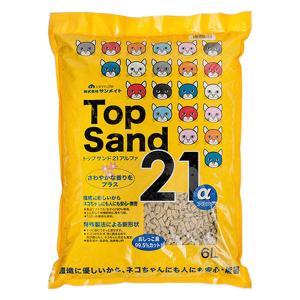 トップサンド21 アルファ 6L 1袋 サンメイト|y-lohaco