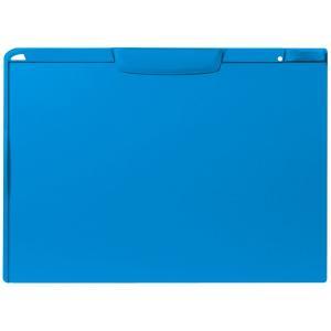 アスクル バインダー クリップボード A3横 ブルー 青