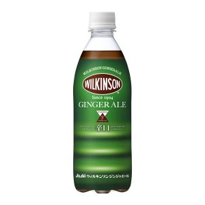 アサヒ飲料 WILKINSON(ウィルキンソン) ジンジャエール(辛口) 500ml 1箱(24本入...