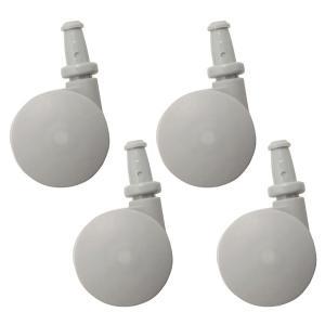 無印良品 ポリプロピレン収納用キャスター 5523788 1セット(4個) 良品計画の画像