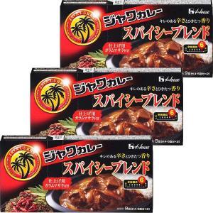ハウス食品 ジャワカレー スパイシーブレンド  1セット(3個)