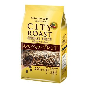 アウトレットサッポロウエシマコーヒー シティーロースト スペシャルブレンド 1袋(420g)|y-lohaco