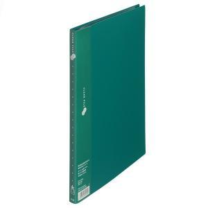 プラス スーパーエコノミークリアーファイル A4タテ 20ポケット グリーン 緑 固定式 FC-122EL 88423|LOHACO PayPayモール店