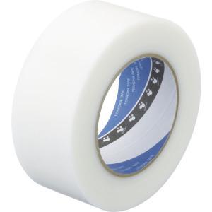 寺岡製作所 養生テープ P-カットテープ No.4140 塗装養生用 半透明 幅50mm×長さ50m...