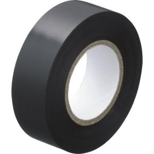 アスクル「現場のチカラ」 ビニールテープ 黒 19mm×10m巻