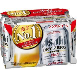 アサヒビール ドライゼロ 350ml 1パック(6缶入) ノンアルコール飲料|y-lohaco