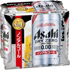 アサヒビール ドライゼロ 500ml 1パック(6缶入) ノンアルコール飲料|y-lohaco