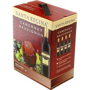 サンタレジーナ カベルネ・ソーヴィニヨン 3000ml バッグインボックス 1本 赤ワイン|LOHACO PayPayモール店