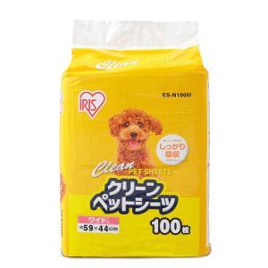 セール 1回使いきり ペットシーツ ワイド 薄型 100枚 1袋 アイリスオーヤマの画像