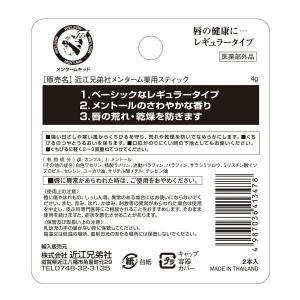 メンターム 薬用スティックレギュラー 5g 2個入 188876 近江兄弟社 y-lohaco 02